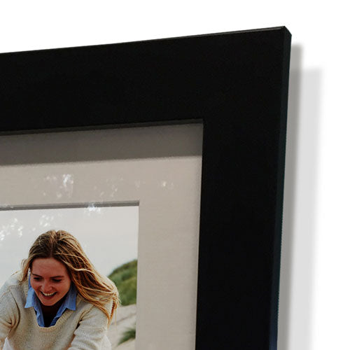 "15x15"" Black Frame with White Border (9x9"" Print)"
