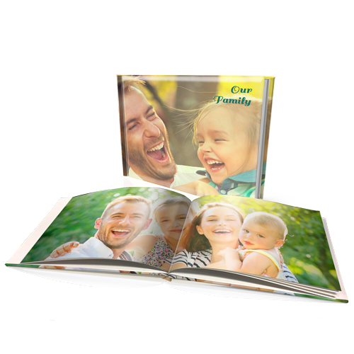 "12 x 16"" Premium Padded Personalised Hard Cover Book"