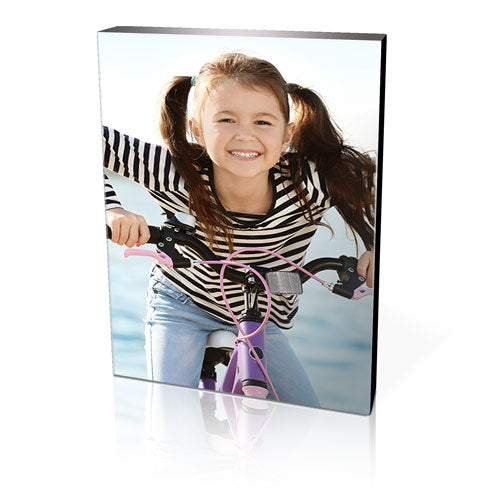 "10 x 10"" Black Photo Block - Square"