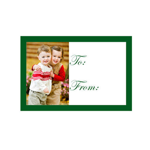 Photo Gift Tags (20 Pack)