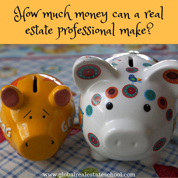 How Much Money Can A Real Estate Professional Earn?