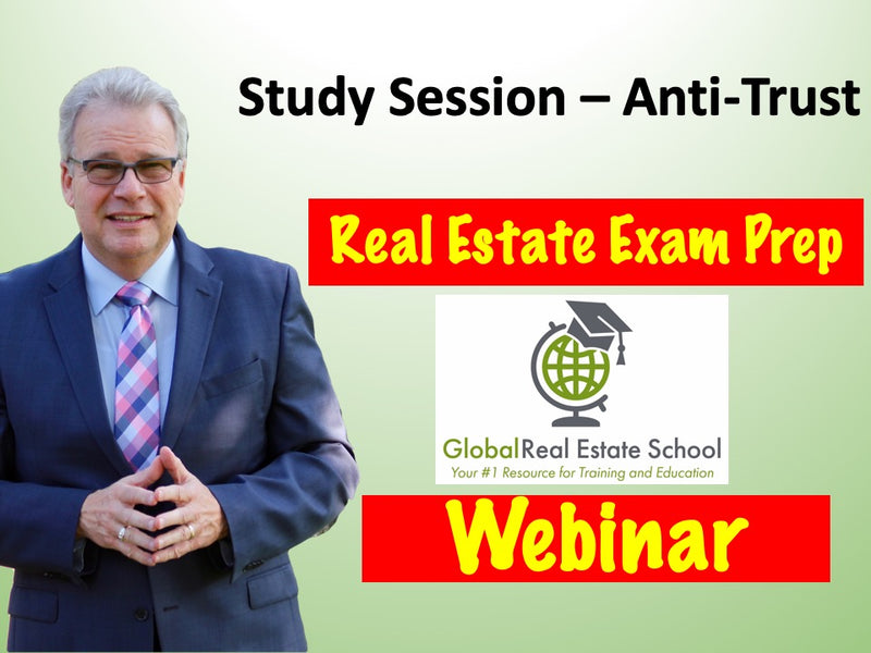 How Well Do You Know Anti-Trust for the Real Estate Exam?  Find out on our Video Blog