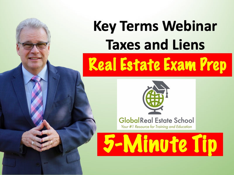 5 Minute Real Estate Exam Tip from Global Real Estate School, Math Legal Description.