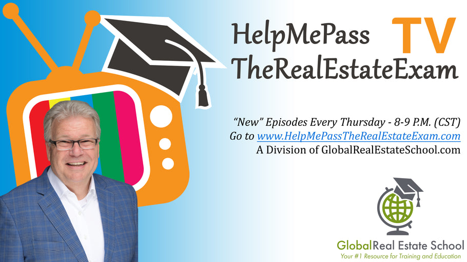 New Live Real Estate Exam Prep Study Session Posted