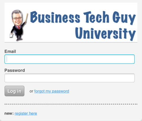 Business Tech Guy University