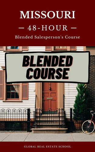 Missouri (Blended Course) - Part Online - Part Live