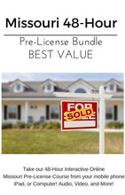 Missouri Pre License Real Estate Course Bundle 48 Hour Pre License and 24 Hour Practice