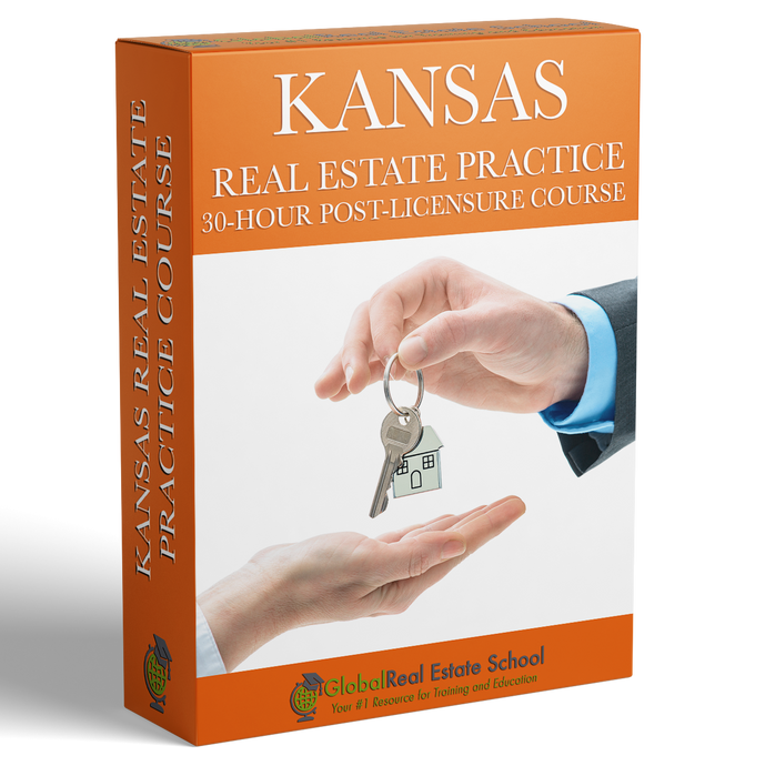 Kansas 30- Hour Mandatory Practice Course - Online - (30-Hour Practice Course Only)