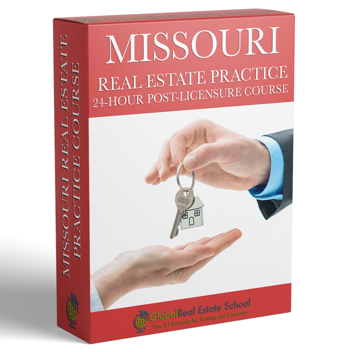 Missouri 24 Hour Mandatory Practice Course - Online - (24 Hour Course Only)