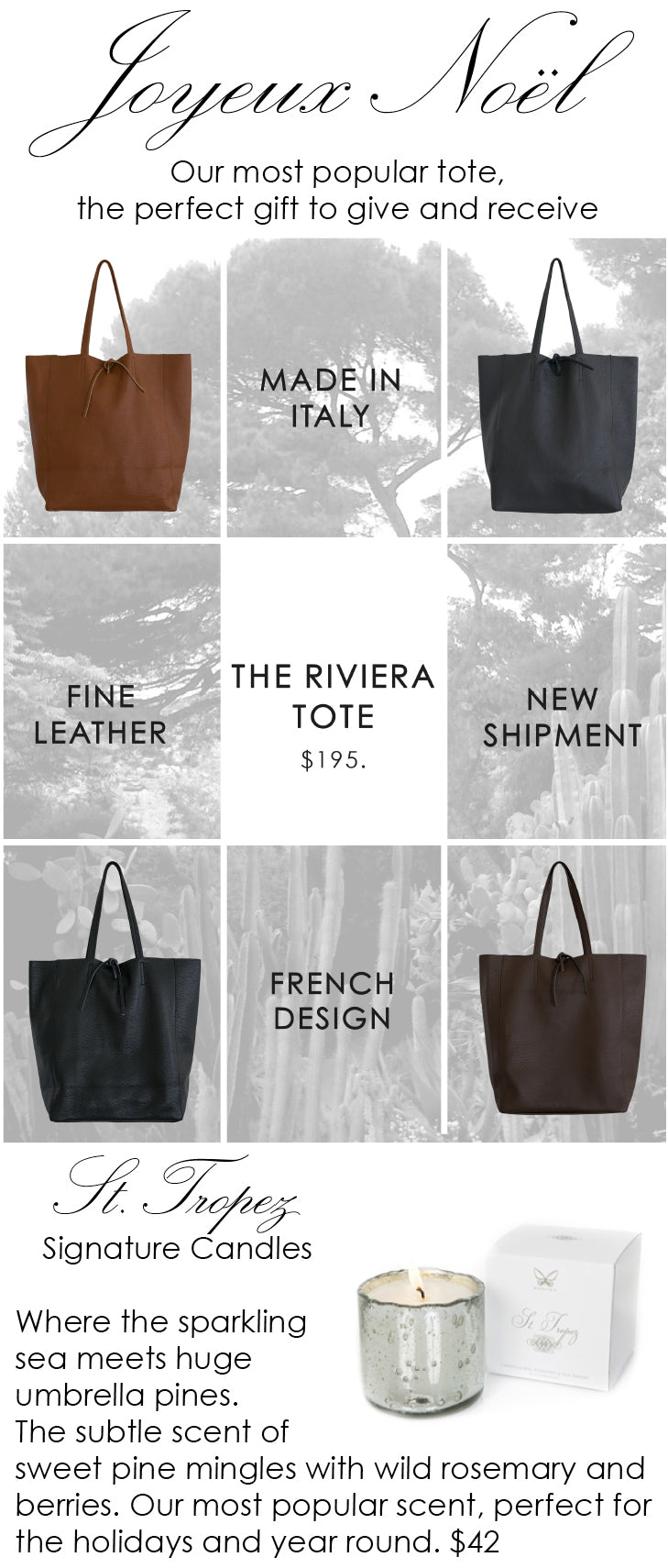 The Perfect Gift – The Riviera Tote