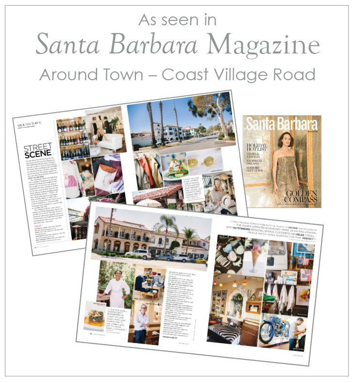 Featured in Santa Barbara Magazine – Coast Village Road