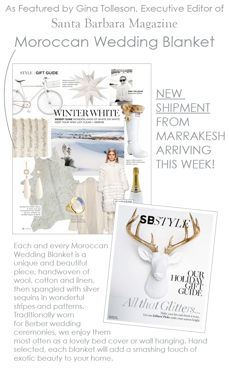 Featured in Santa Barbara Magazine's 2014 Gift Guide