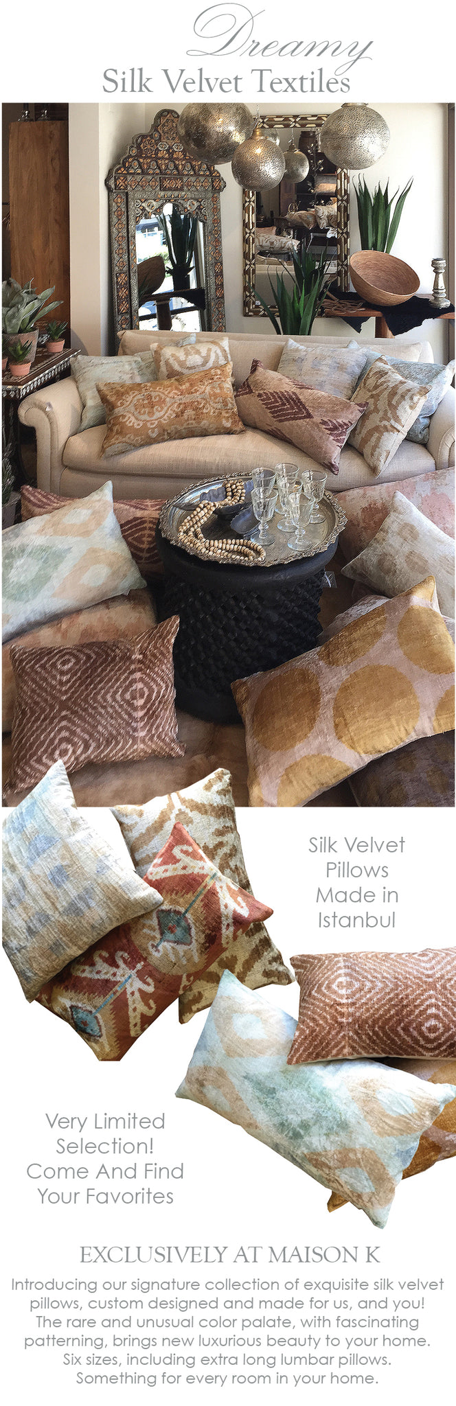 Brighten Your Home With Silk Velvet Textiles