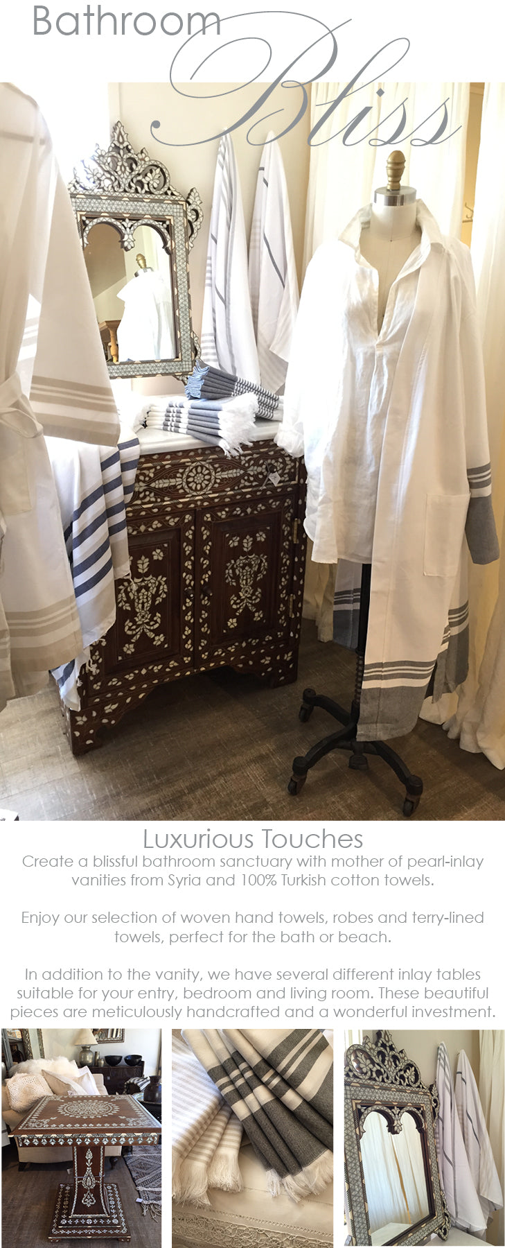 Bathroom Bliss with Turkish Cotton Towels