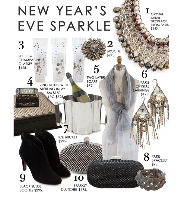 Create Sparkle & Light this New Year's