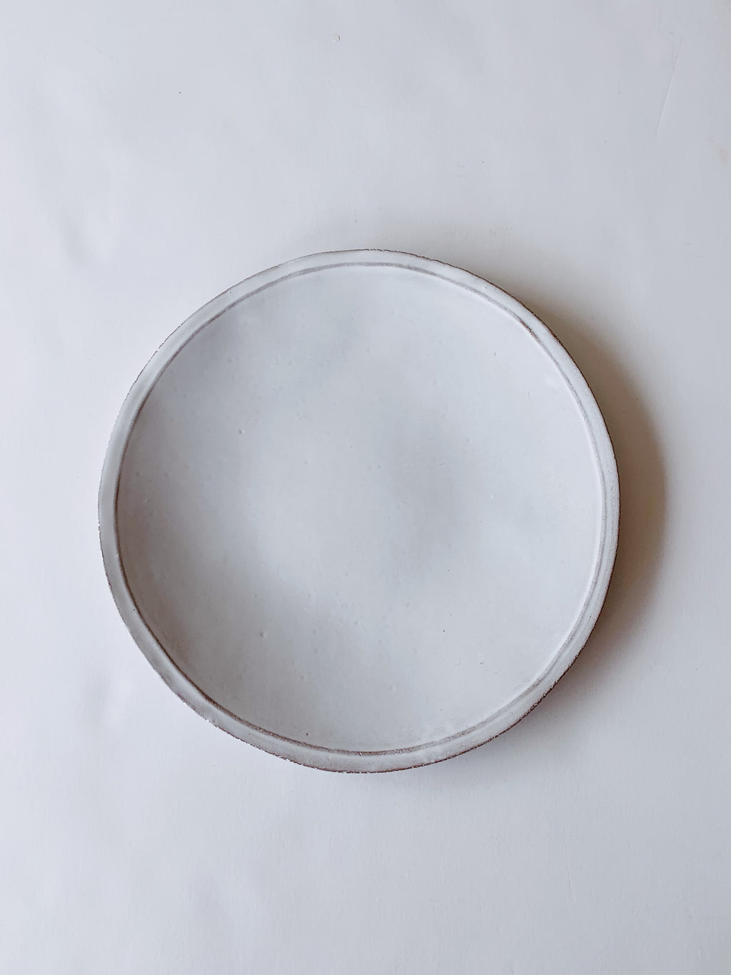 Astier de Villatte Simple Dinner Plate