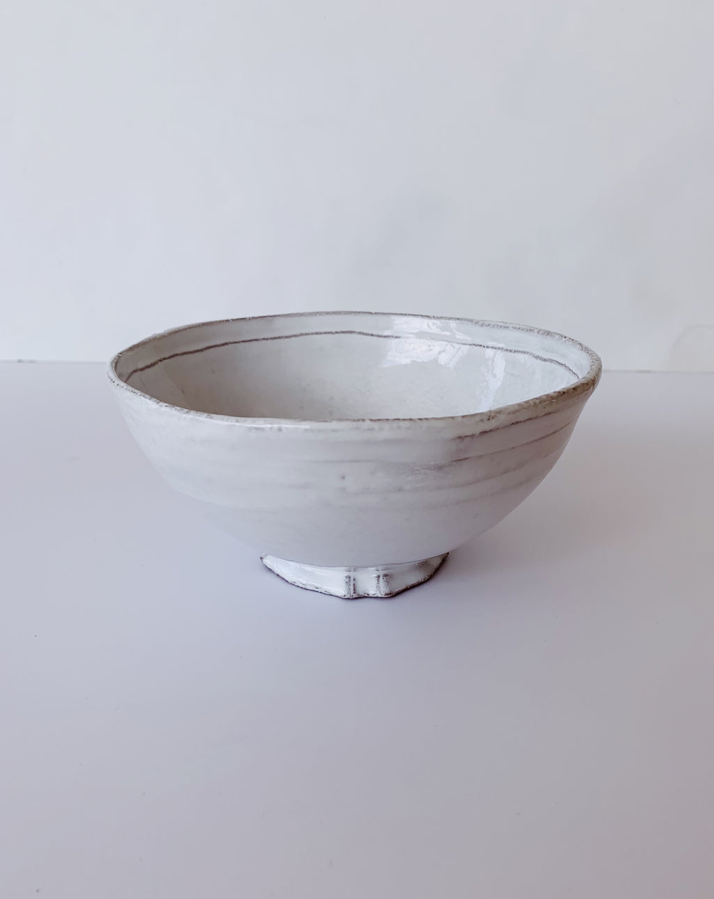 Astier de Villatte Small Simple Bowl