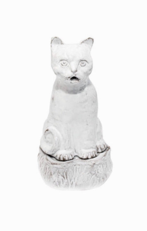 Astier De Villatte Smoking Cat Incense Burner