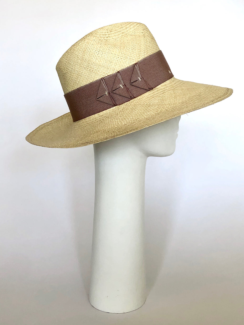 Natural Wide Brim Straw Hat