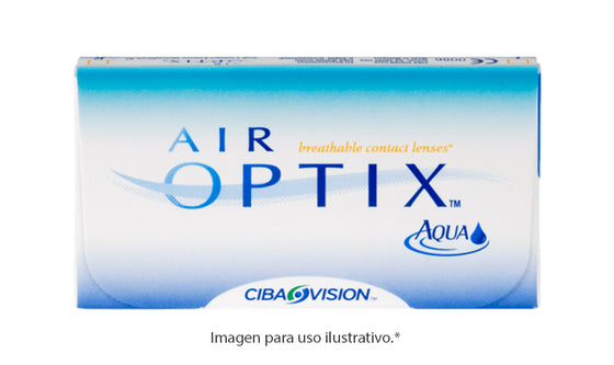 Air Optix Aqua 6 Pk Esférico