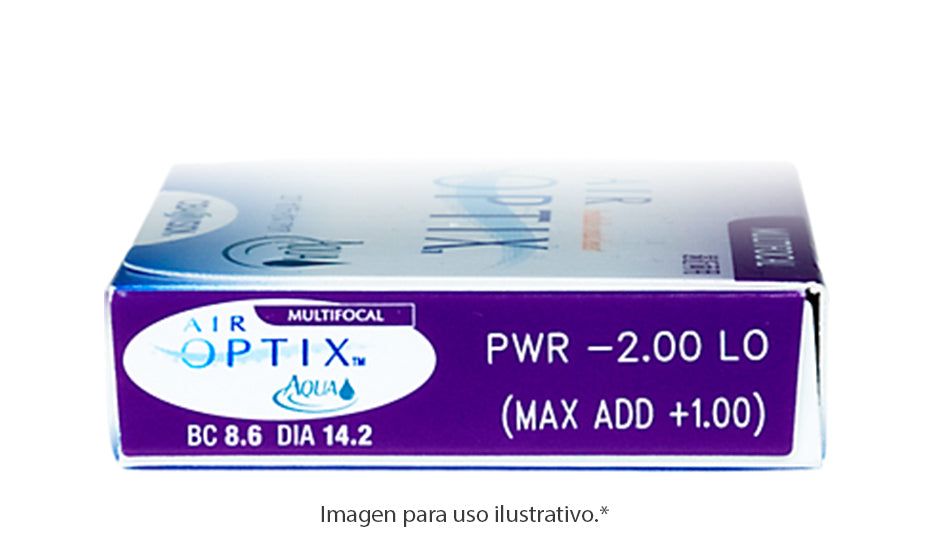 Air Optix Aqua Multifocal 6 Pk.