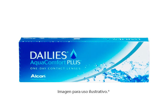 DAILIES Aquacomfort Plus 30 - Esférico