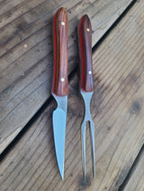 Cocobolo eating set