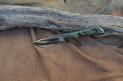 Green maple burl wood, Medium skinner