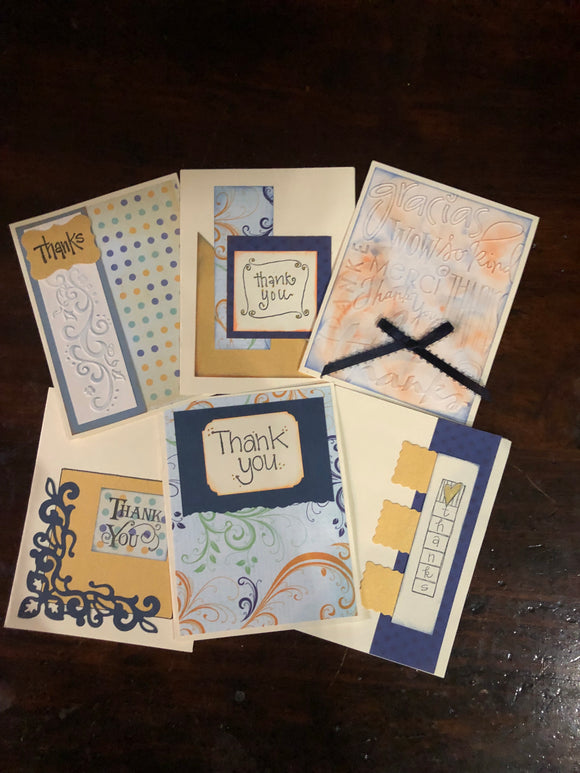 Card Workshop -Thank You Cards
