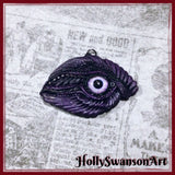 Birds Eye Purple Pendant