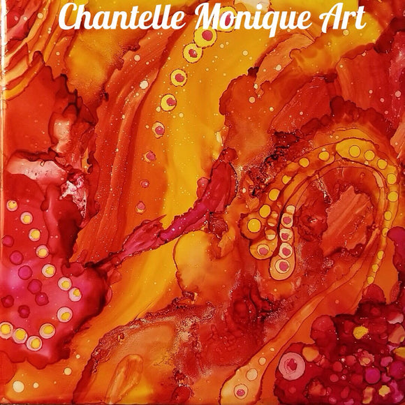 Alcohol Ink Workshop with Chantelle