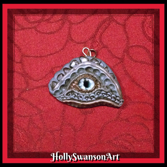 Rock Dragon Eye Pendant
