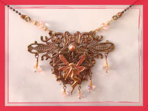 Rose Gold Fairy Necklace