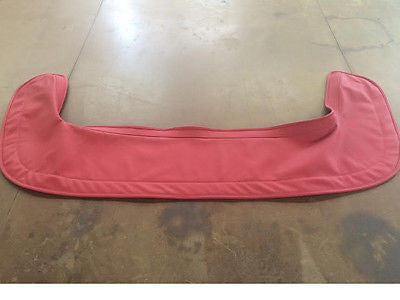 1955 - 1963 Mercedes Benz 190SL Convertible Top Boot Cover - OEM Mercedes Leather