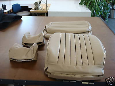 1972 - 1985 Mercedes Benz 280SL, 350SL, 380SL, 450 SL Front Seat Kit -  Leather