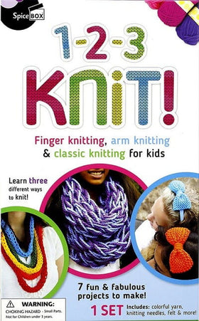Kit - 1-2-3 Knit! Box