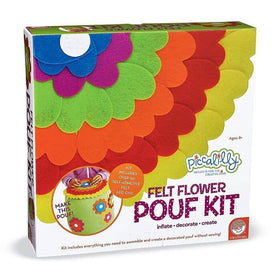 Kit - Felt Flower Pouf Kit Box