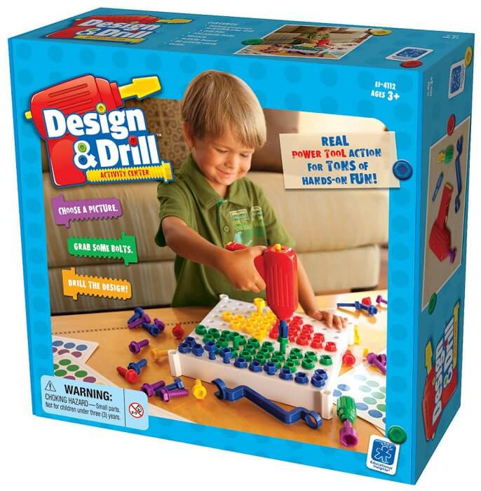 Toy - Design & Drill Activity Center Box