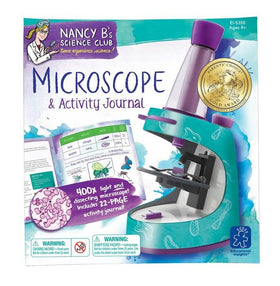 Toy - Nancy B's Science Club Microscope & Activity Journal Box