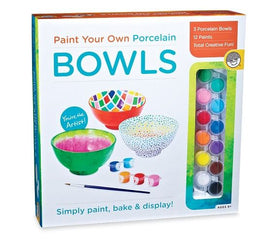 Kit - Paint Your Own Porcelain Bowls Box