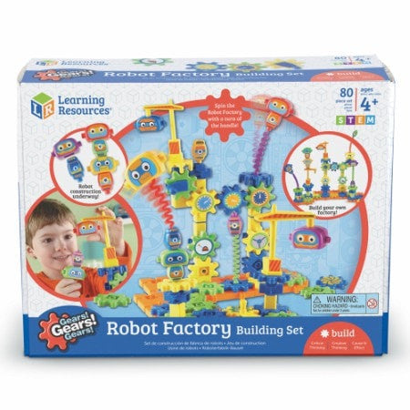 Toy - Gears! Gears! Gears! Robot Factory Building Set