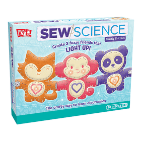 Toy - Sew Science: Cuddly Critters Box