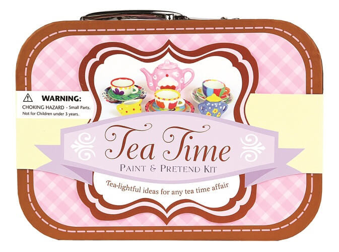 Kit - Tea Time Paint & Pretend Box