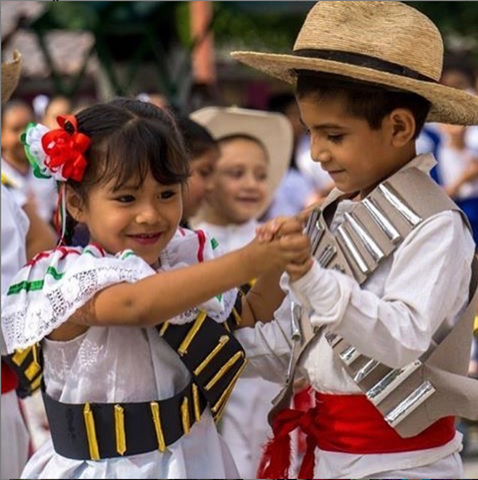 Dancing Mexican Kids