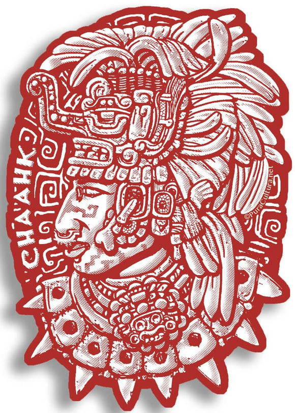 Chaak Sticker Pura Cultura Red
