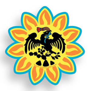 Mexica Pantli Sticker Nahua Ollin