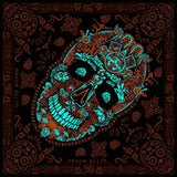 Graphic bandana Pura Cultura Miquiztli/ orange