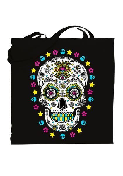 Graphic tote bag Bag Nahua Ollin Skulli