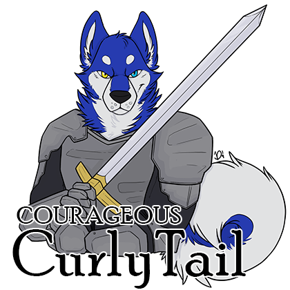 Courageous Curlytail