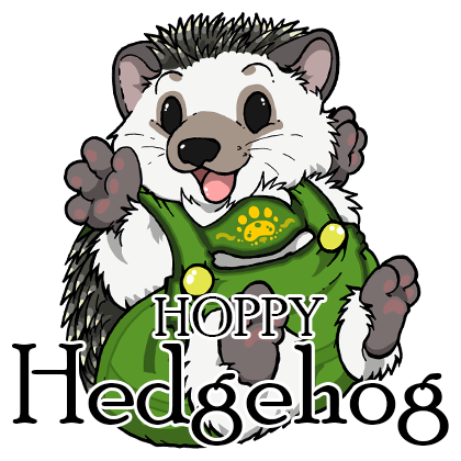 Hoppy Hedgehog - Red Label